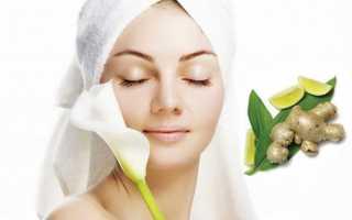 Имбирь для лица — рецепты масок для кожи лица и от морщин
