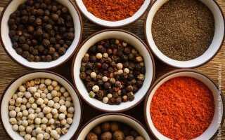 Все о различиях черного и душистого перцев