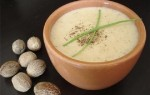 Мускатный орех с молоком и кефиром