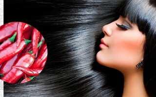 Как настойка красного перца влияет на волосы