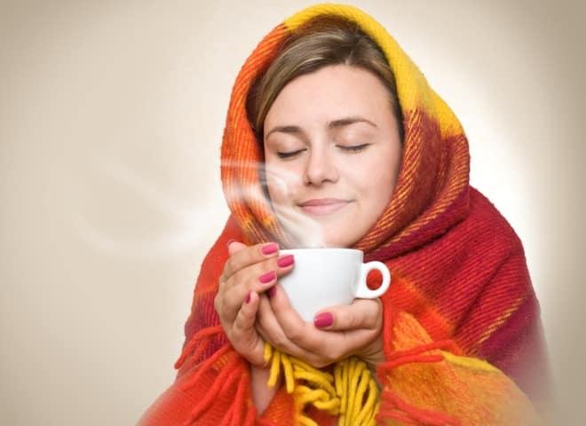 чай зимой