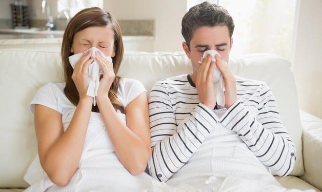 простуженная пара