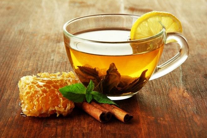 чай мед корица
