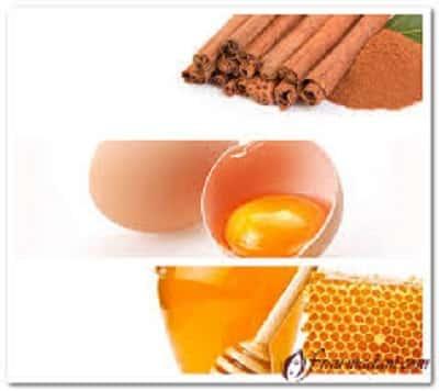 корица яйцо мед